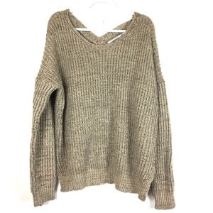 Tobi Long Sleeve Knit Sweater M